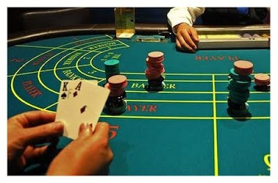 Baccarat, the original game of James Bond!